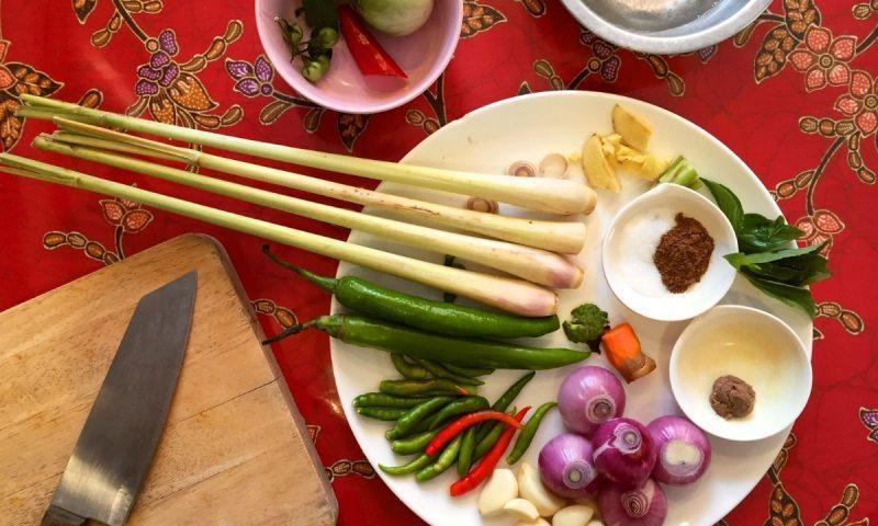 Curso de cozinha tailandesa (2)