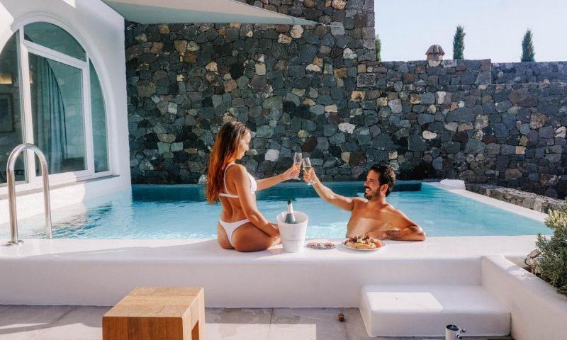 Hotel 5 estrelas Santorini