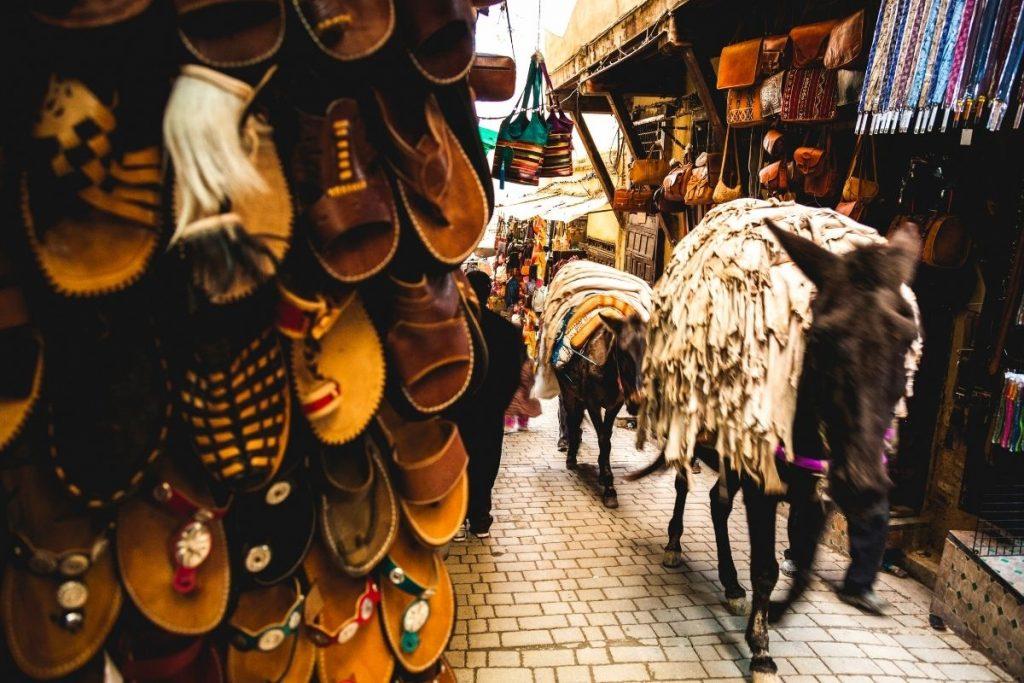 coisas a fazer em Fez medina