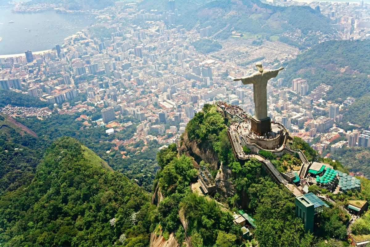 rio de janeiro free travel guide cristo redentor drone