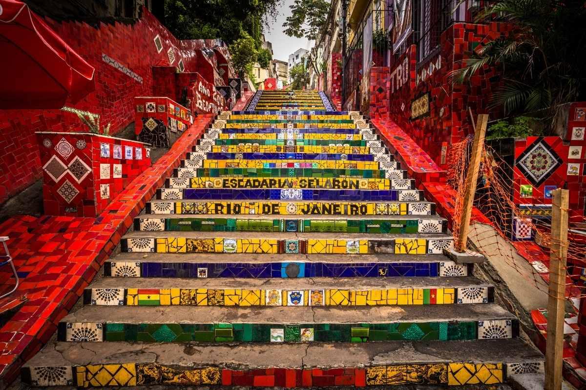 rio de janeiro free travel guide escadaria selaron