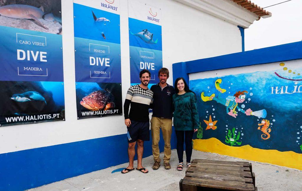 Diving Portugal - Peniche Diving School Haliotis