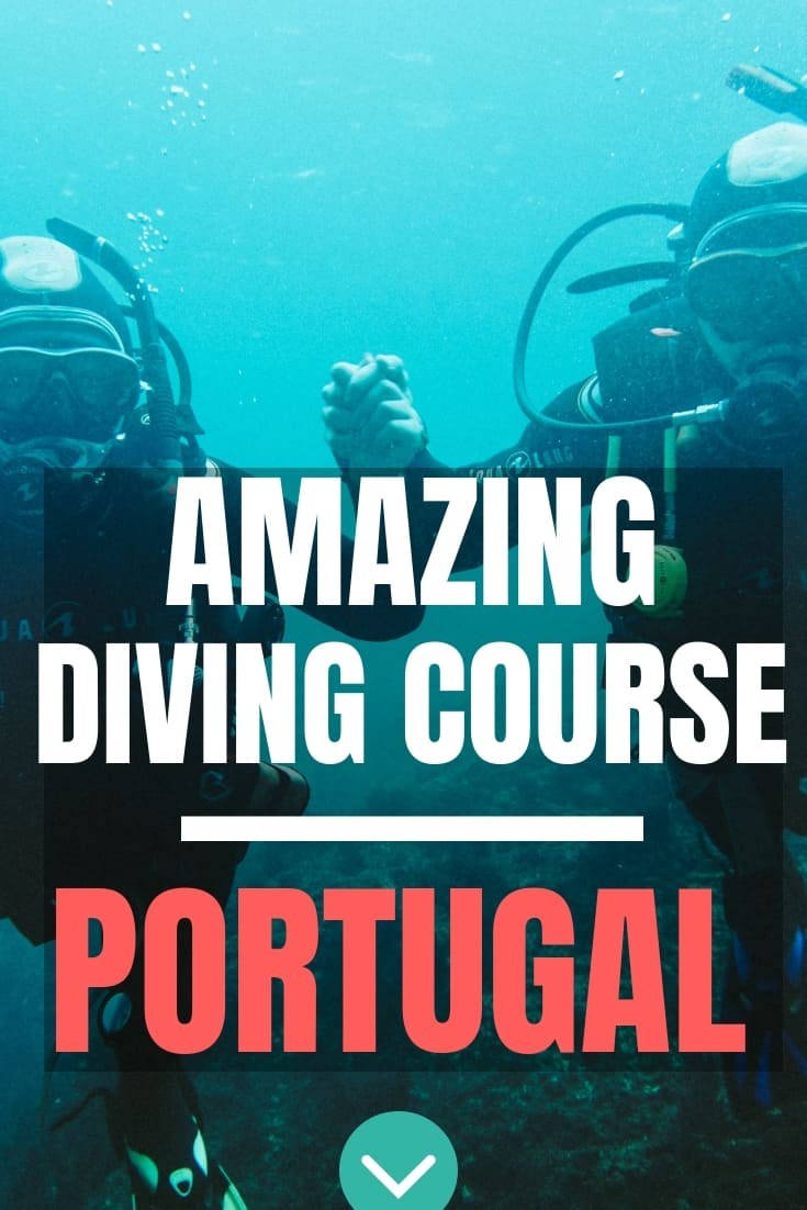 Learning how to dive in Peniche and becoming PADI Open Water Scuba Divers Diving Portugal - Peniche Diving School Haliotis