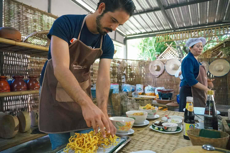 Curso de Cozinha Tailandesa Chiang Mai Love Cooking School