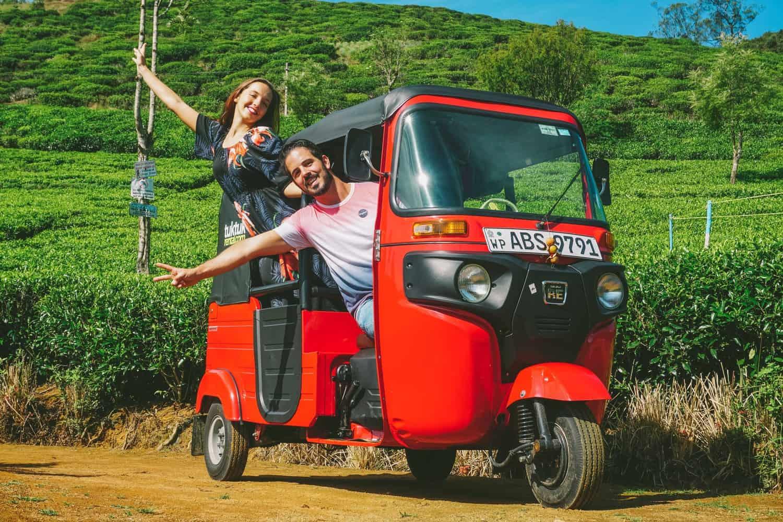 Alugar Tuk Tuk no Sri Lanka -  Carta de condução
