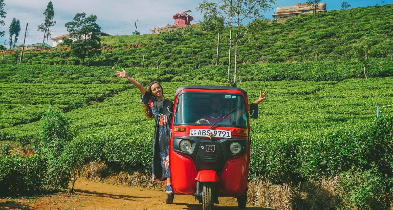 Renting a Tuk Tuk in Sri Lanka