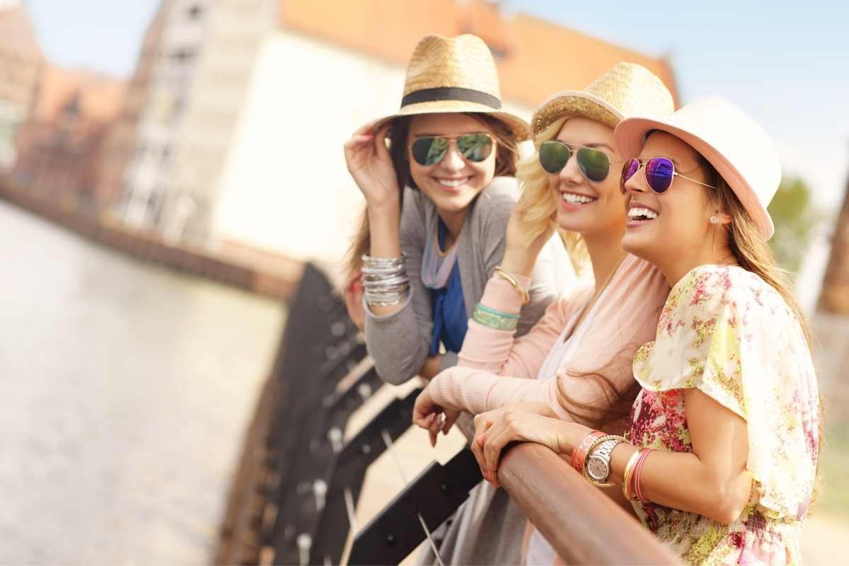 girls relaxing gdansk poland travel guide 55secrets