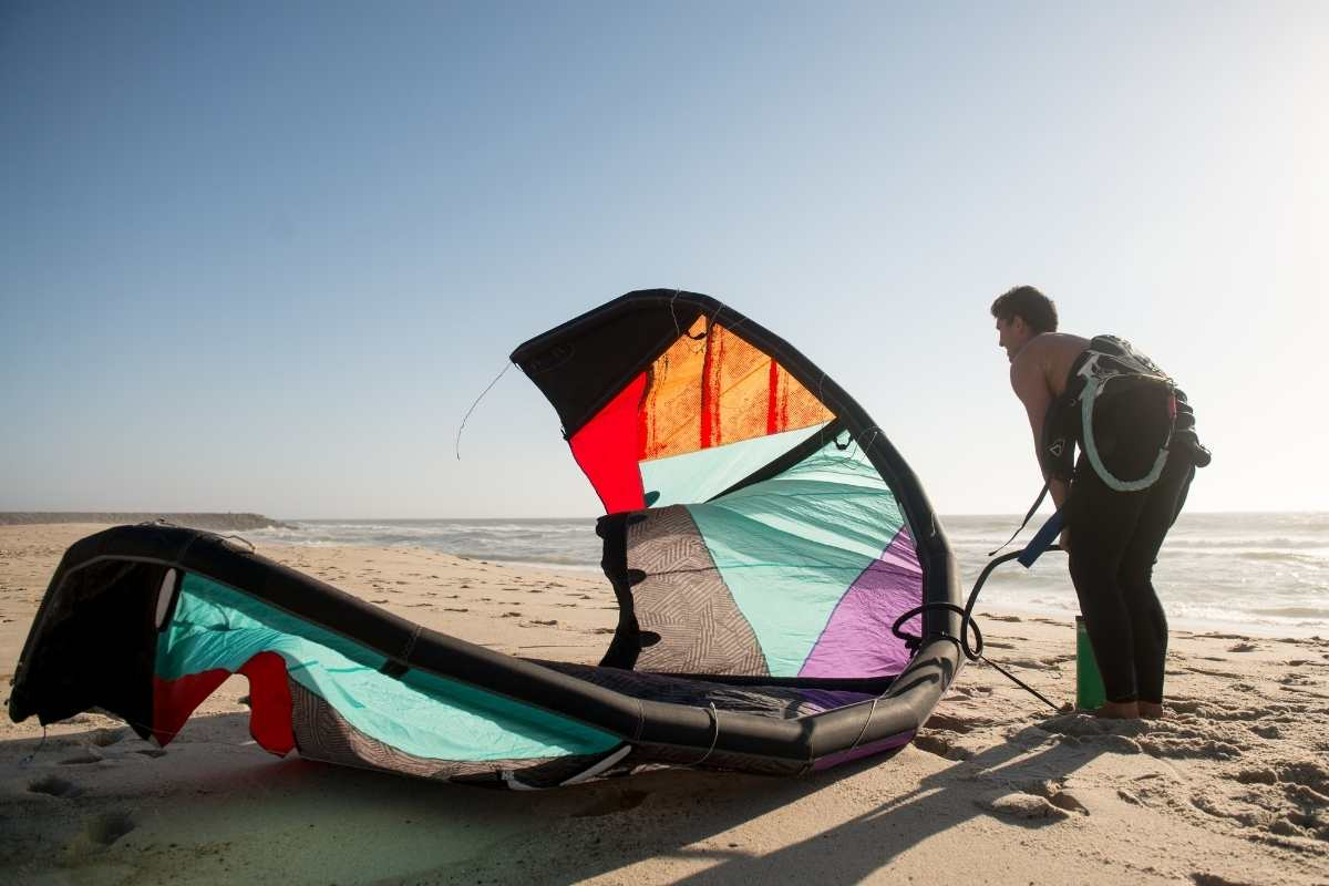 begginers lesson Best spots to kitesurf in portugal 2021