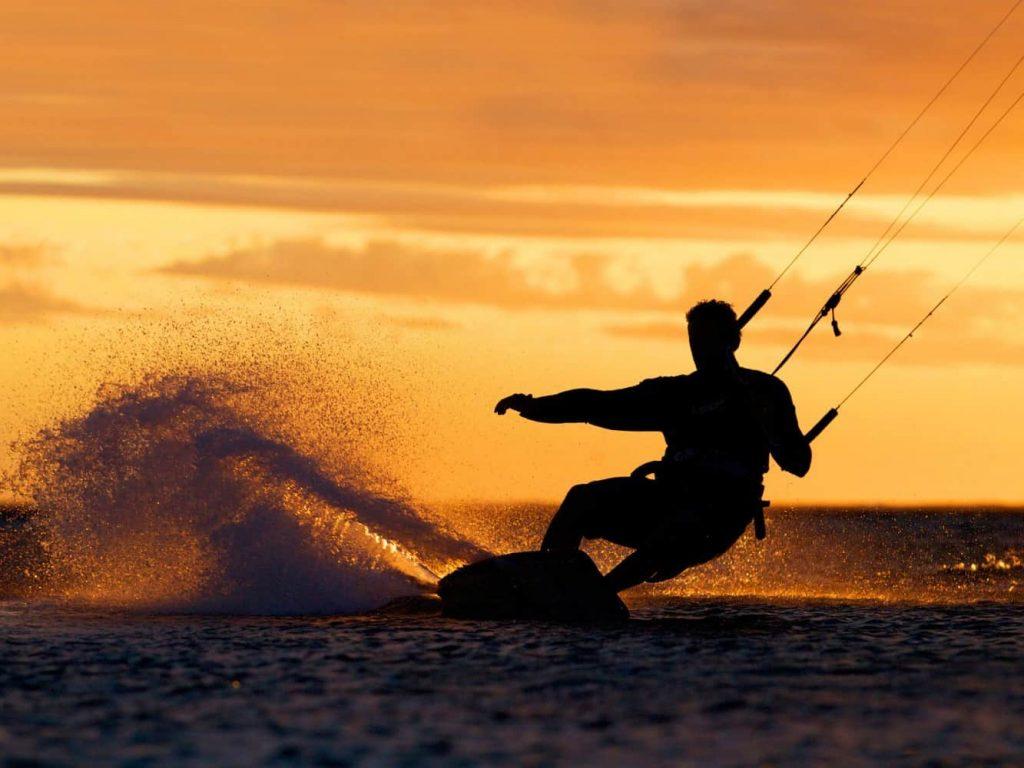 kitesurfing Caparica