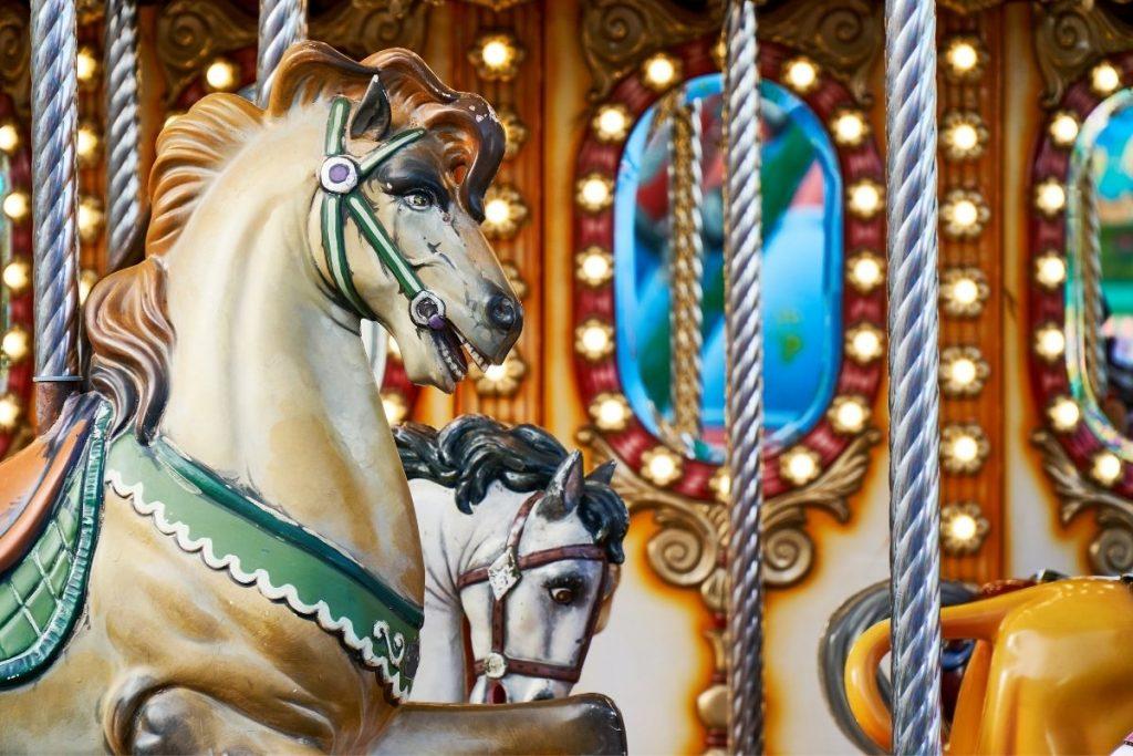 Athens amusement park 2021 travel couple