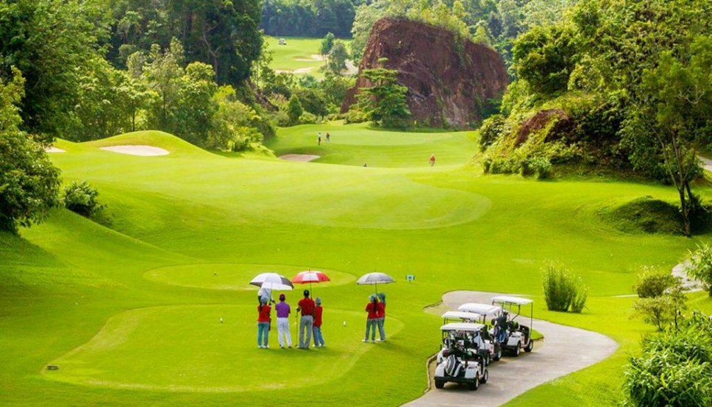 luxury activities in Phuket - Golf