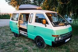 Rent a campervan in Porto Mingo