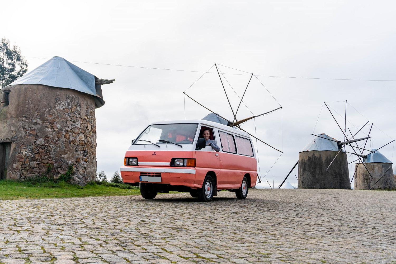 vanlife portugal roadtrip 2020